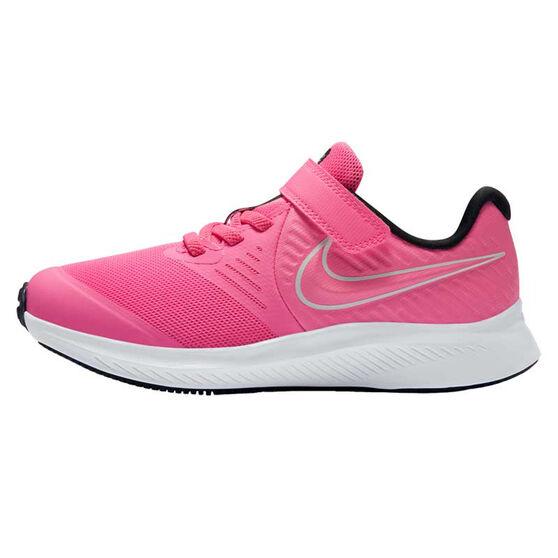 Nike Star Runner 2 Kids Running Shoes, Pink/White, rebel_hi-res