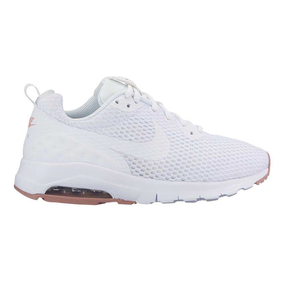 cheap for discount ce3e1 d52f0 Nike Air Max Motion Low Womens Casual Shoes White   Pink US 10, White