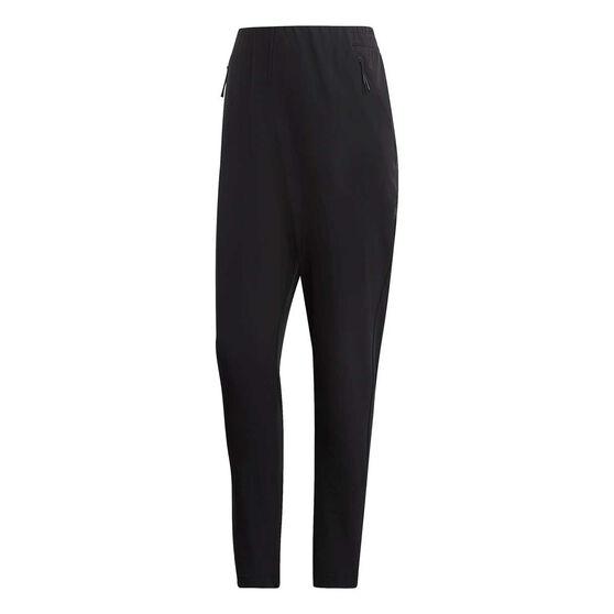f5b71cec49146d adidas Womens Franchise Woven Tracksuit Pants, Black, rebel_hi-res