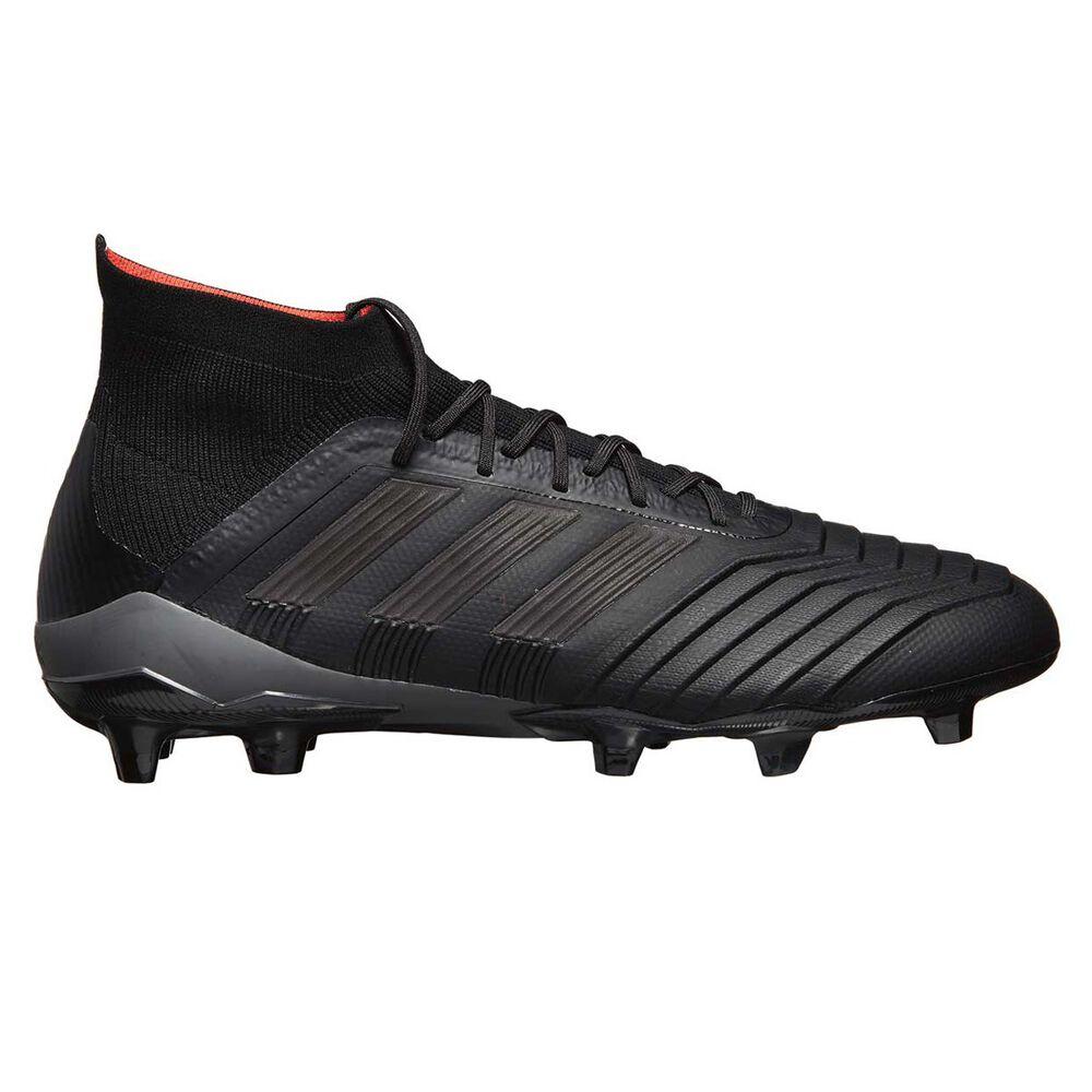 fcb7f5870a35 adidas Predator 18.1 Mens Football Boots, Black / Orange, rebel_hi-res