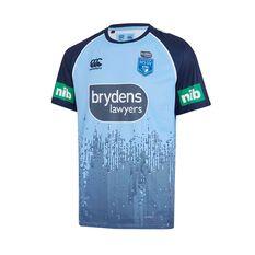 NSW State of Origin Mens Training Tee Blue S, Blue, rebel_hi-res