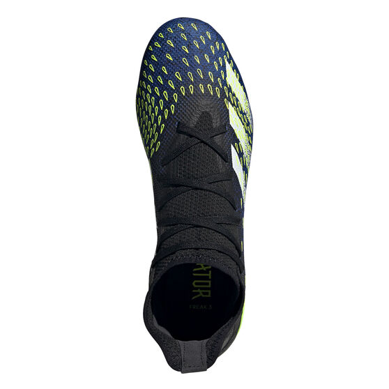 adidas Predator Freak .3 Football Boots, Black, rebel_hi-res