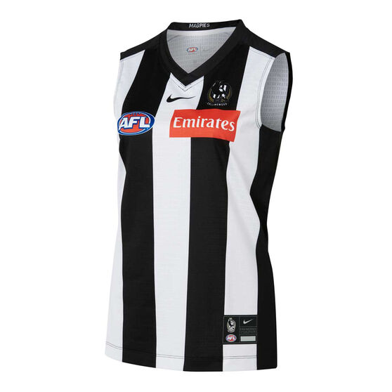 Collingwood Magpies 2021 Womens Home Guernsey, , rebel_hi-res