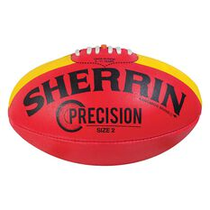 Sherrin Precision Football Red / Yellow 2, , rebel_hi-res