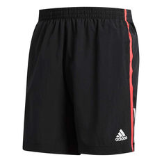 adidas Mens Own the Run 5in Running Shorts Red S, Red, rebel_hi-res
