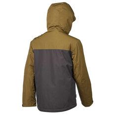 Tahwalhi Boys Boomer Jacket Khaki 4, Khaki, rebel_hi-res