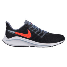 Nike Air Zoom Vomero 14 Mens Running Shoes Black / Pink US 8, Black / Pink, rebel_hi-res