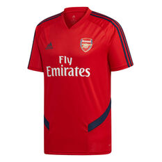 Arsenal FC 2019/20 Mens Training Jersey Red S, Red, rebel_hi-res