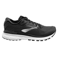 Brooks Adrenaline GTS 20 D Womens Running Shoes Black/White US 6, Black/White, rebel_hi-res