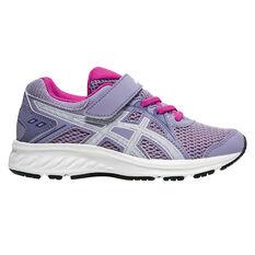 Asics Jolt 2 Kids Running Shoes Purple / White US 11, Purple / White, rebel_hi-res