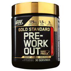 Optimim Nutrition Gold Standard Fruit Punch Pre Workout 30 Serves, , rebel_hi-res