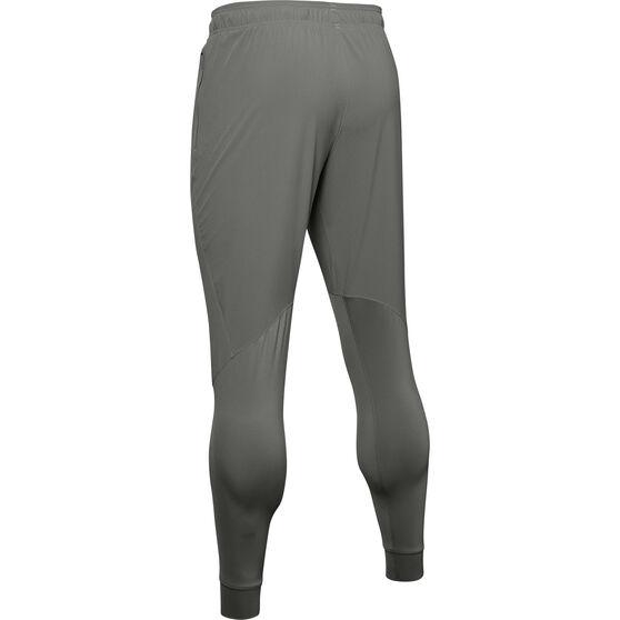 Under Armour Mens Hybrid Performance Pants, Green, rebel_hi-res