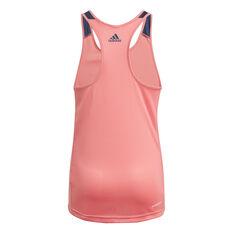 adidas Girls Designed To Move Leopard Tank Pink 6, Pink, rebel_hi-res