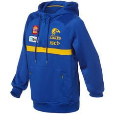 West Coast Eagles 2020 Kids Squad Hoodie Blue 6, Blue, rebel_hi-res