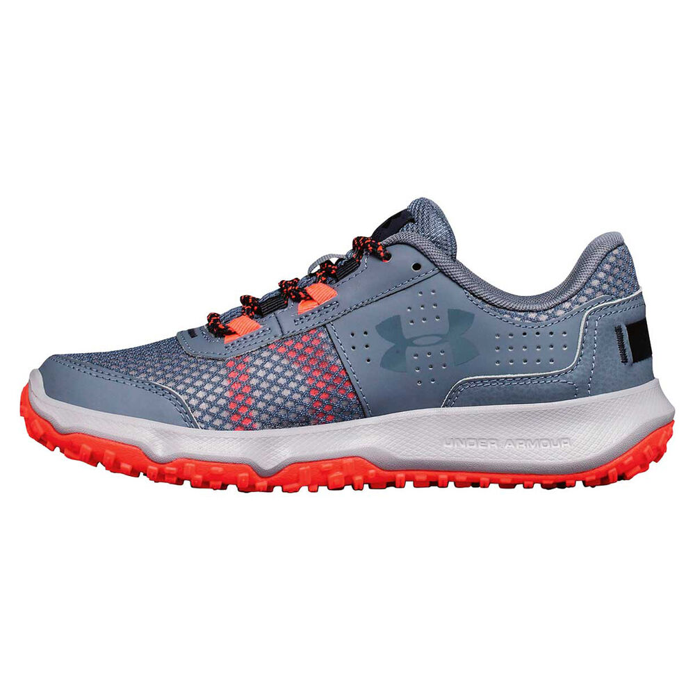 Under Armour Toccoa Womens Trail Running Shoes Grey   Red US 9 ... 99d3afd4ddd