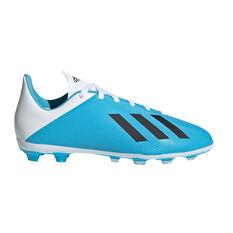 adidas X 19.4 Kids FXG Football Boots, Blue / Black, rebel_hi-res