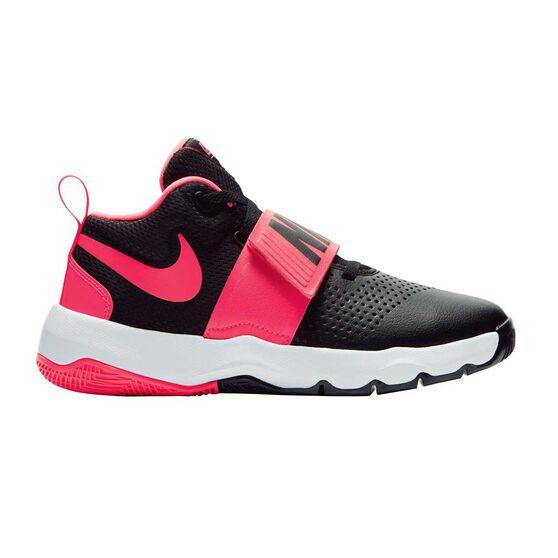 size 40 07c69 595c4 Nike Team Hustle D 8 Junior Girls Basketball Shoes Black / Pink US 4, Black