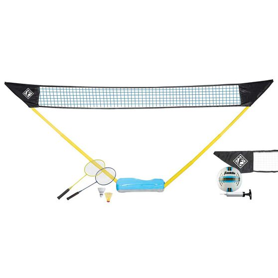 Franklin Quikset Volleyball Badminton Combo, , rebel_hi-res