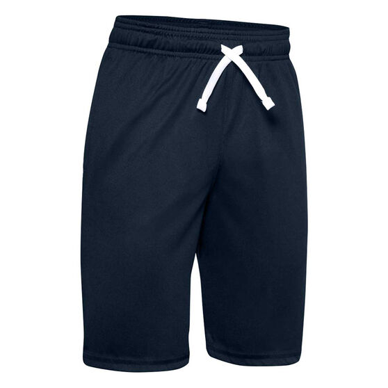 Under Armour Boys Prototype Wordmark Shorts, Blue, rebel_hi-res