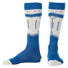 Elude Mens Arrow Socks Blue US 1 - 7, , rebel_hi-res