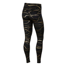 Nike Womens Icon Clash Fast Running Tights Black XS, Black, rebel_hi-res