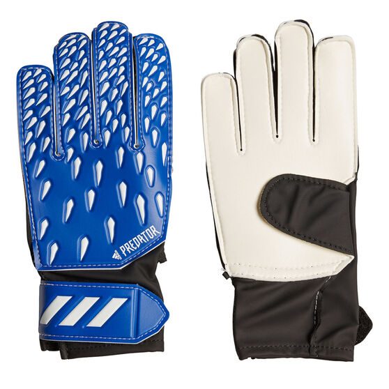 adidas Predator Junior Training Goalkeeping Gloves, Blue, rebel_hi-res