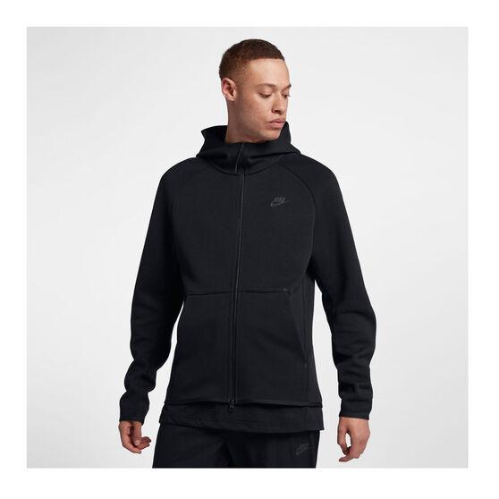 Nike Mens Sportswear Tech Fleece Hoodie, Black, rebel_hi-res