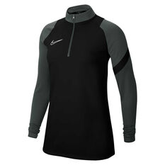 Nike Womens Dri-FIT Academy Pro Soccer Drill Top Black XS, Black, rebel_hi-res