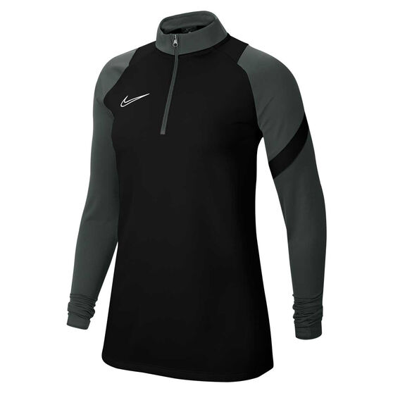 Nike Womens Dri-FIT Academy Pro Soccer Drill Top, Black, rebel_hi-res