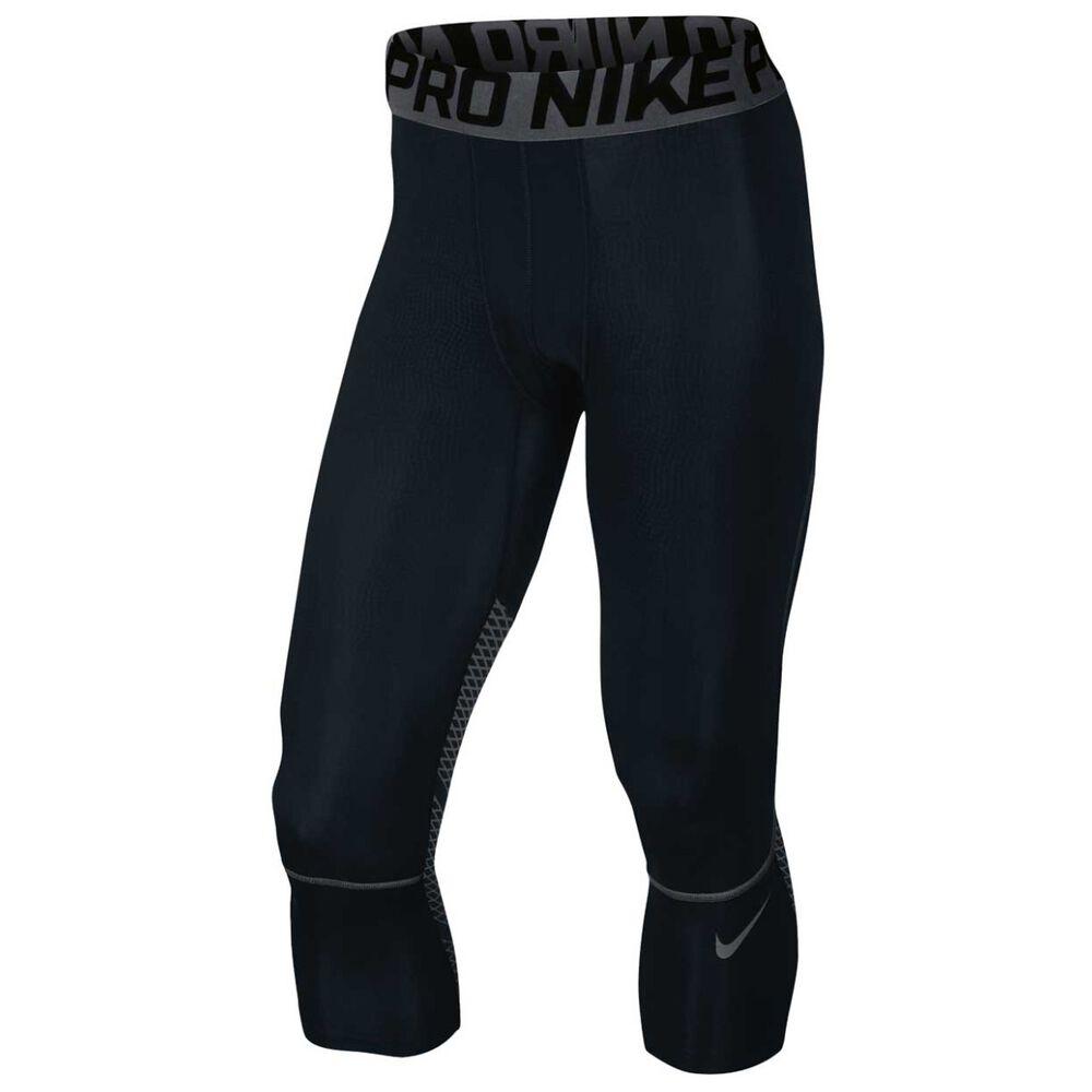 504982a414f9 Nike Mens Pro Hypercool 6in Shorts Black   Grey L