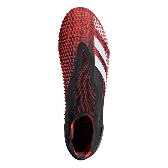 adidas Predator 20+ Football Boots, Black / White, rebel_hi-res
