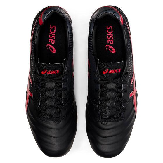Asics Lethal Tigreor IT FF 2 Football Boots, Black/Red, rebel_hi-res