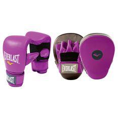 Everlast Glove and Mitt Combo Purple, , rebel_hi-res