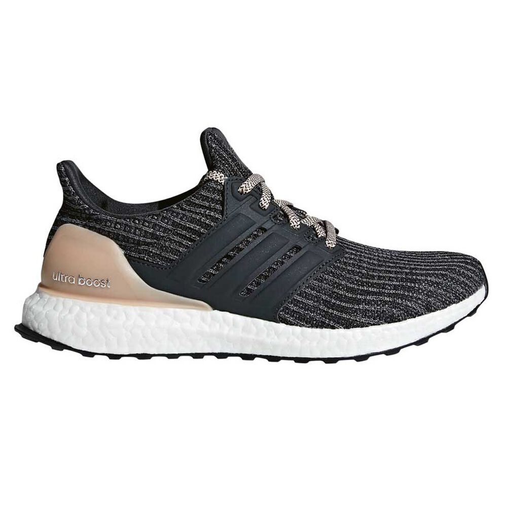 b887ad646c514 adidas Ultraboost Womens Running Shoes Grey   Pink US 8.5