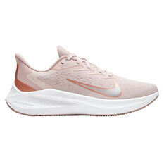 Nike Zoom Winflo 7 Womens Running Shoes Pink/Red US 6, Pink/Red, rebel_hi-res