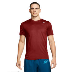 Nike Mens Dri-FIT Legend 2.0 Training Tee Red XS, Red, rebel_hi-res