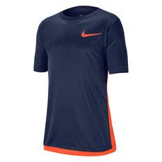 Nike Boys Dri-FIT Trophy Training Tee Blue XS, Blue, rebel_hi-res