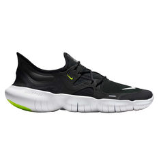 40e496d5c5b Nike Free RN 5.0 Mens Running Shoes Black   White US 7