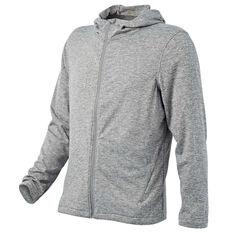 Tahwalhi Mens Ridge Full Zip Hoodie Grey S, Grey, rebel_hi-res