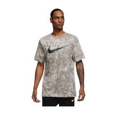 Nike Mens Dri-FIT Story Pack Training Tee Grey XS, Grey, rebel_hi-res