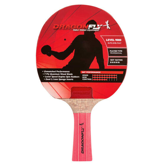 Dragonfly Pro 9000 Table Tennis Bat, , rebel_hi-res