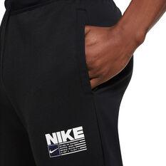 Nike Mens Dri-Fit Tapered Training Pants, Black, rebel_hi-res