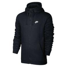 Nike Mens Sportswear Hoodie Black S adult, Black, rebel_hi-res