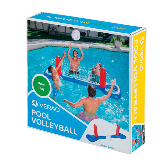 Verao Inflatable Pool Volleyball Set, , rebel_hi-res