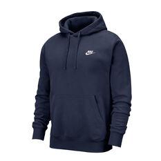 Nike Mens Sportswear Club Fleece Pullover Hoodie Navy XS, , rebel_hi-res
