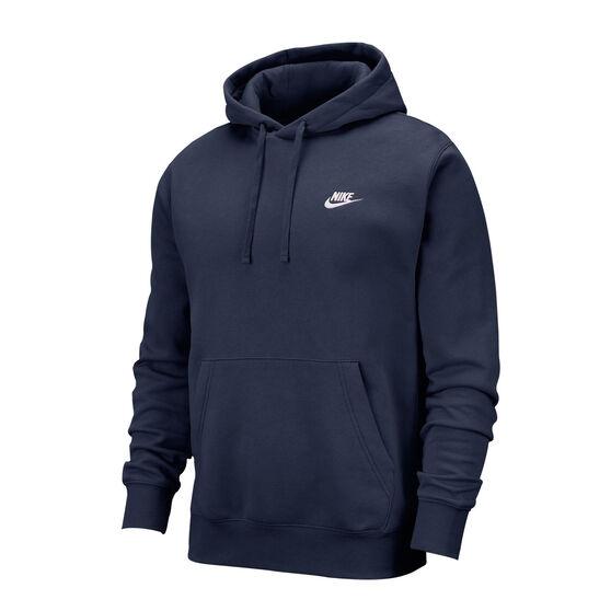 Nike Mens Sportswear Club Fleece Pullover Hoodie, , rebel_hi-res
