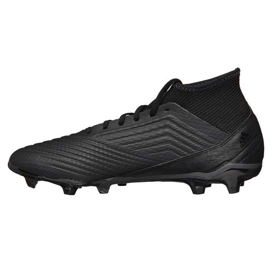 adidas Predator 18.3 Junior Football Boots Black / Orange US 3, Black / Orange, rebel_hi-res