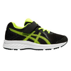 Asics Jolt 2 Kids Running Shoes Black / Yellow US 11, Black / Yellow, rebel_hi-res