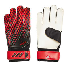 adidas Predator 20 Training Goalkeeping Gloves Black / Red 8, Black / Red, rebel_hi-res