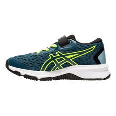 Asics GT 1000 9 Kids Running Shoes Teal US 11, Teal, rebel_hi-res